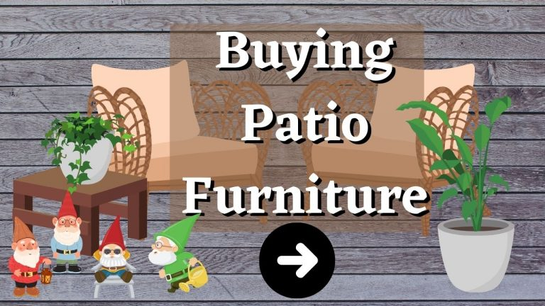 Buying Patio Furniture For Your Timber Deck